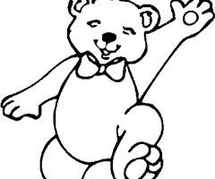 dessin ours qui dort