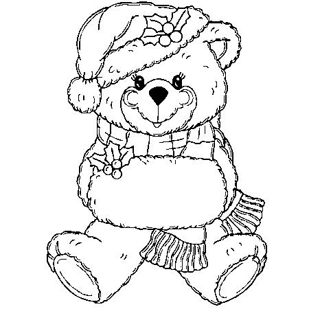dessin à colorier ours boucle d'or