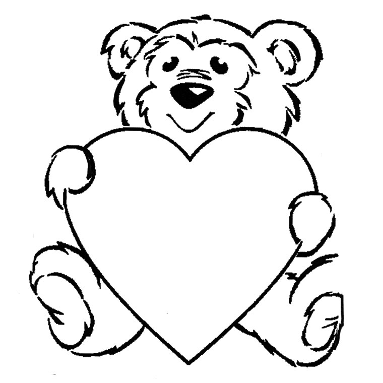 coloriage en ligne gratuit ours
