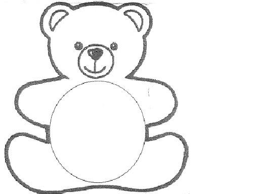 dessin à colorier ours petite section