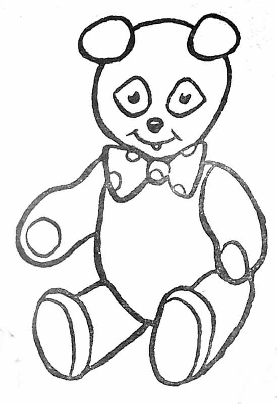 coloriage à dessiner ours polaire gratuit