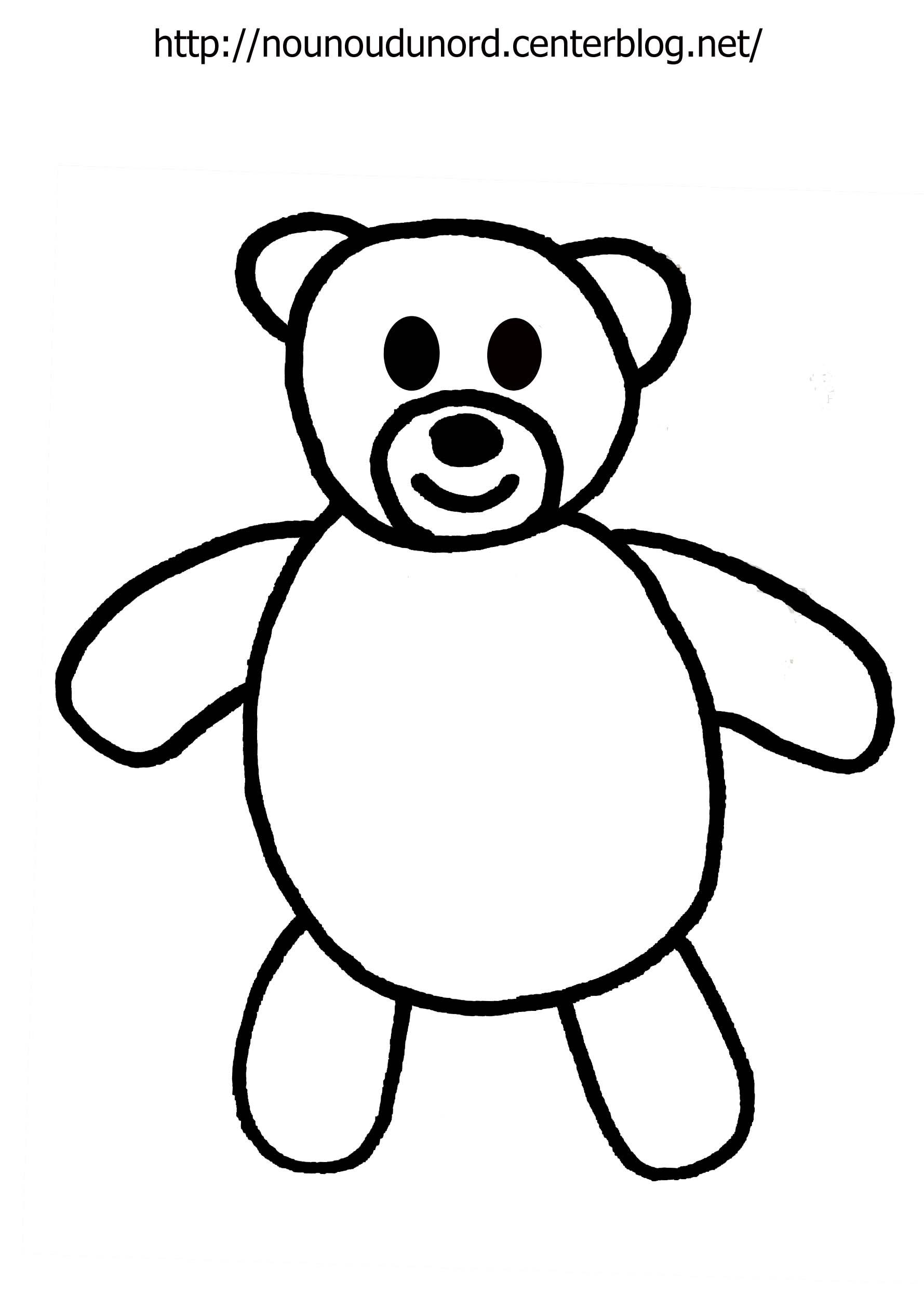 dessin magique ours maternelle