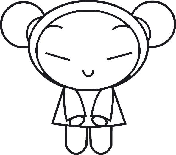 dessin à colorier gratuit pacman