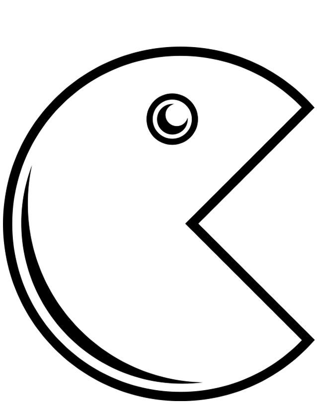 dessin pacman en ligne