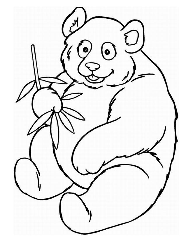 7 dessins de coloriage panda a imprimer imprimer - Coloriage a imprimer de panda geant ...