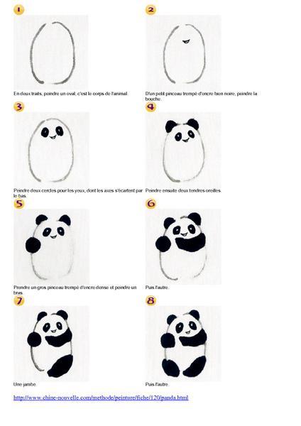 12 dessins de coloriage panda roux imprimer - Dessiner un faucon ...