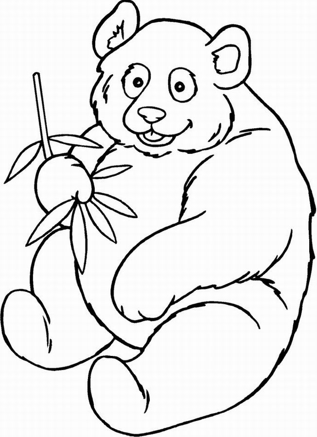 Dessin Panda Imprimer Gratuit