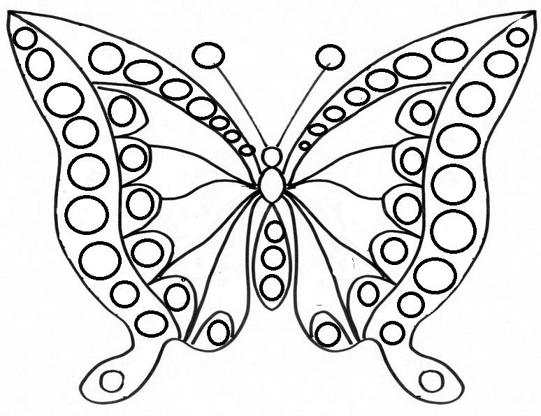 Best Of Coloriage Papillon Facile Luxe Coloriage Papillon Facile