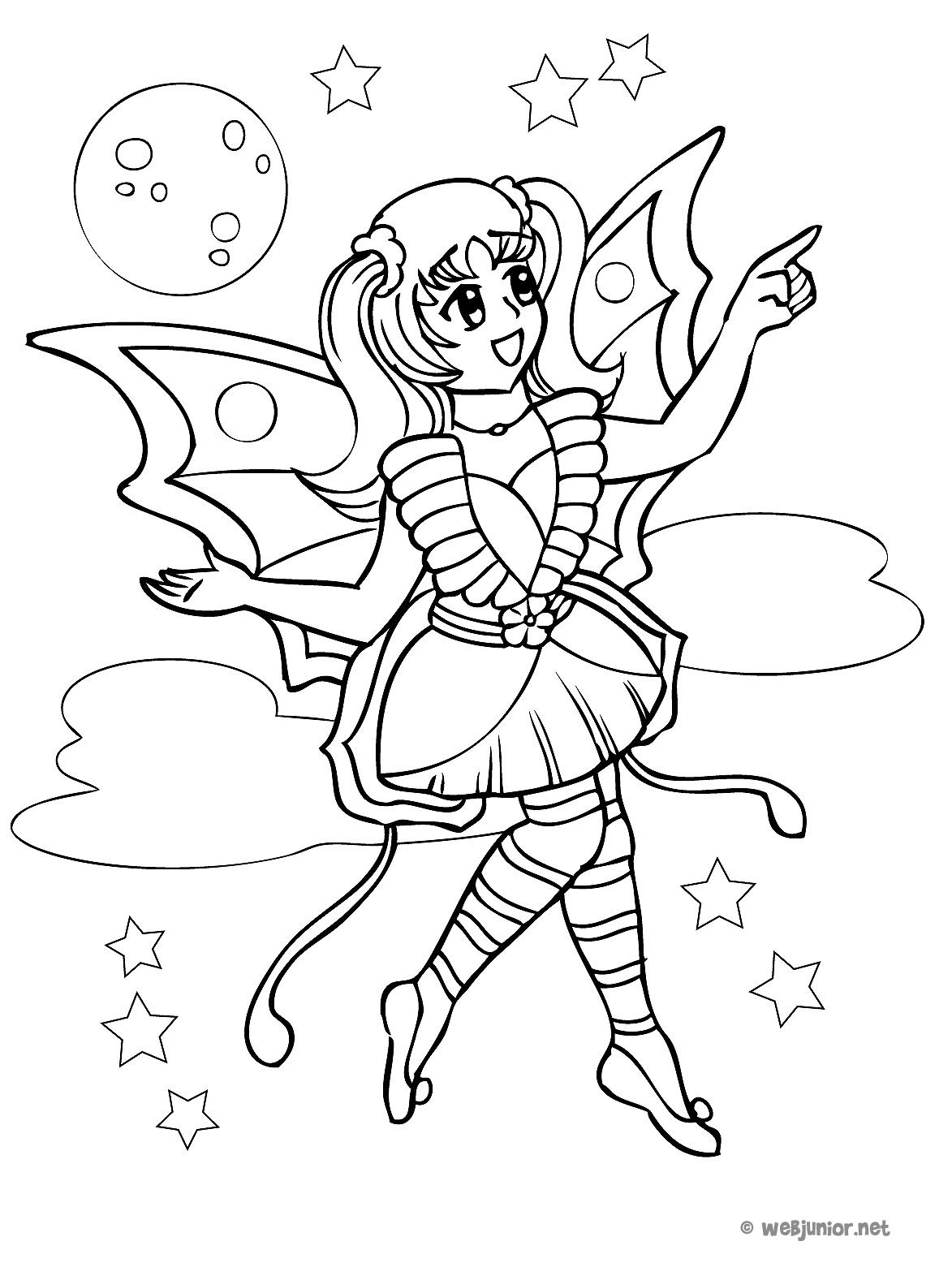 86 dessins de coloriage papillon magique imprimer - Dessin imprimer ...