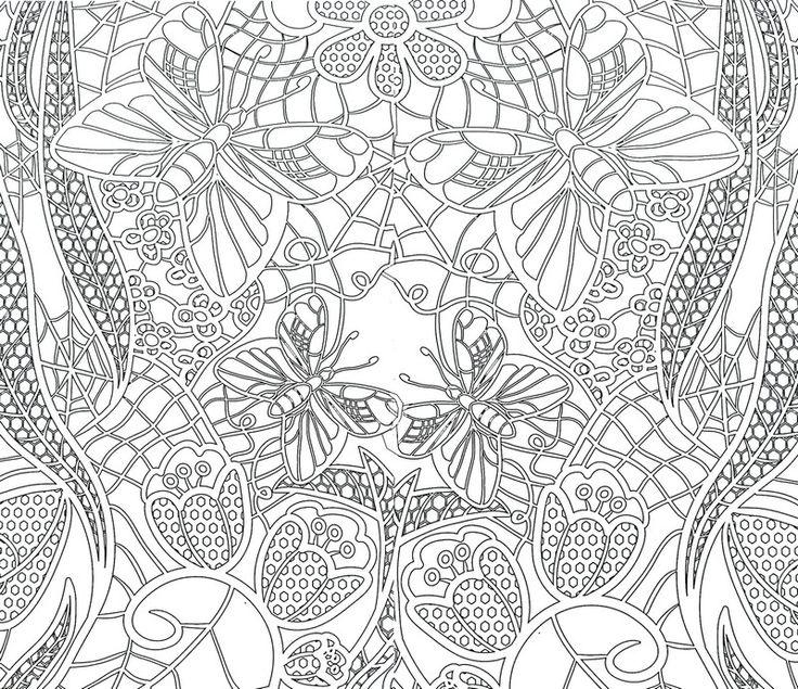 94 Dessins De Coloriage Papillon Sym 233 Trie 224 Imprimer
