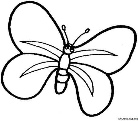 Coloriage dessiner un papillon - Dessiner un papillon ...