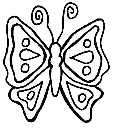 Dessin papillon ligne - Papillon coloriage ...