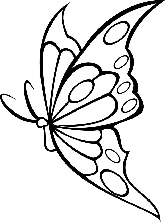 Coloriage dessiner barbie papillon - Papillon coloriage ...