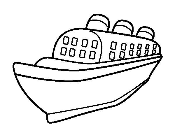 coloriage du paquebot france
