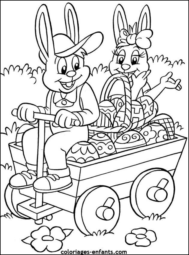 99 dessins de coloriage p ques imprimer gratuit imprimer - Dessin de paques a colorier ...