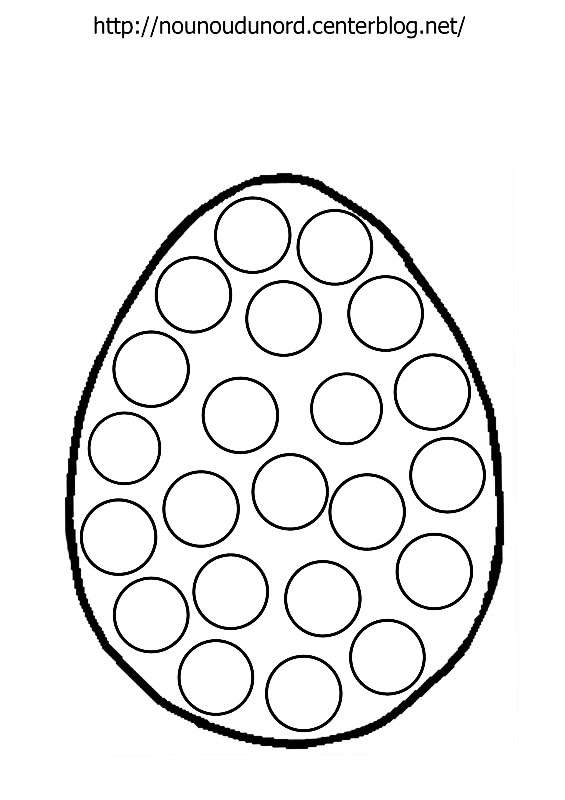 97 dessins de coloriage p ques maternelle imprimer - Decoration oeufs de paques maternelle ...