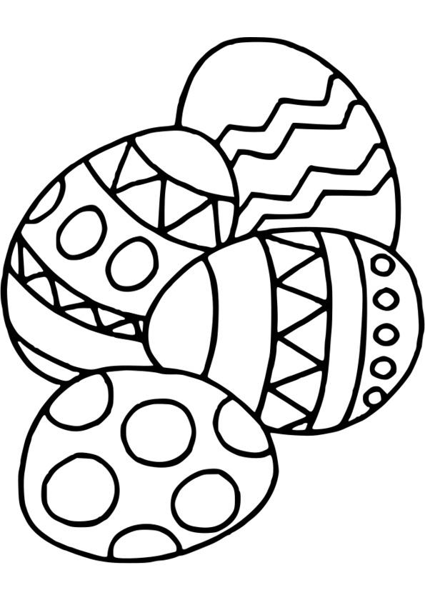 dessin lapin paques a imprimer