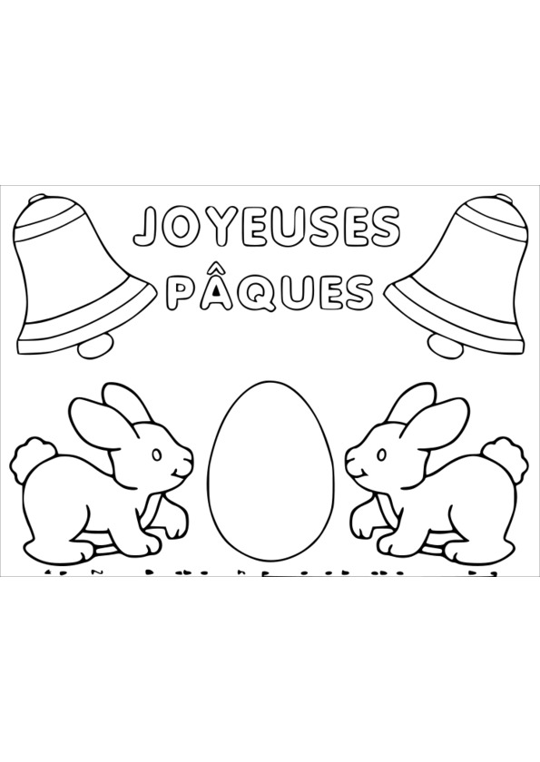dessin paques happy easter