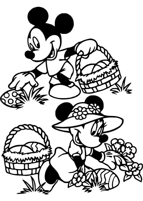 dessin à colorier oeuf paques gratuit imprimer