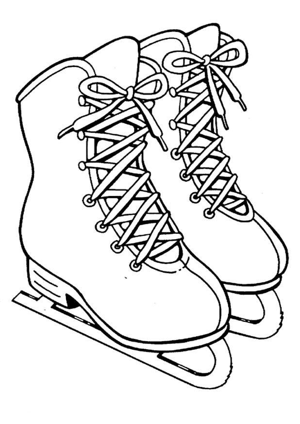 dessin de patinage bratz