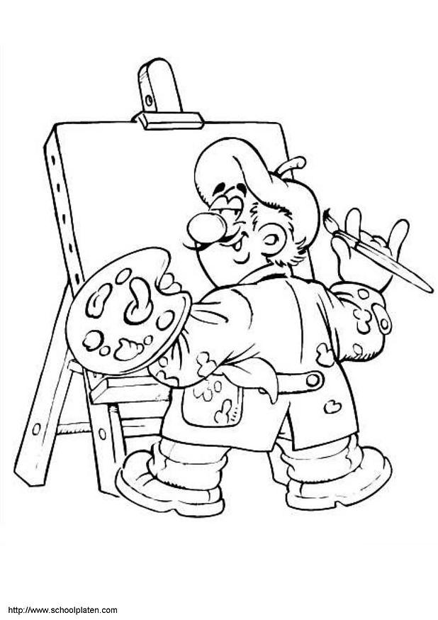 dessin peinture impressionniste