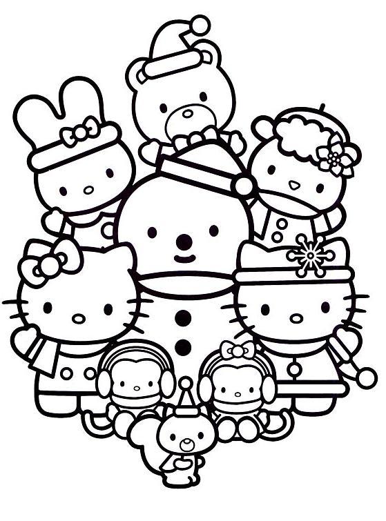 14 dessins de coloriage Peppa Pig Et Ses Amis à imprimer