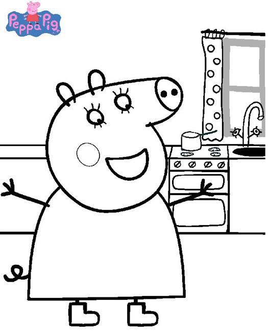 2 dessins de coloriage peppa pig gratuit imprimer - Dessin a imprimer peppa pig ...