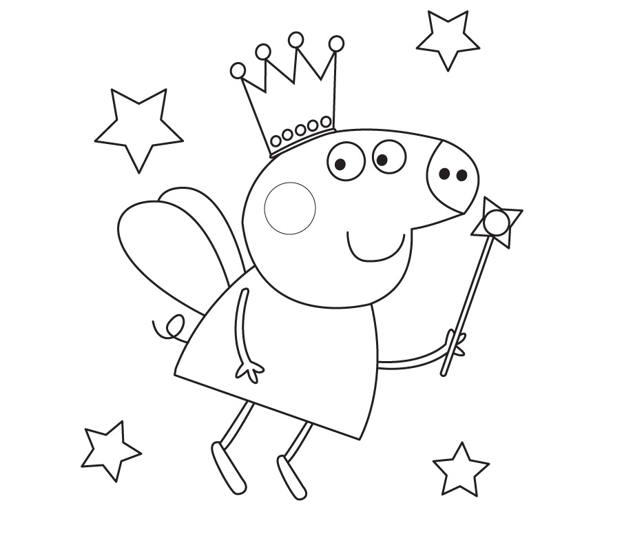 Peppa Pig Coloring Pages Printable