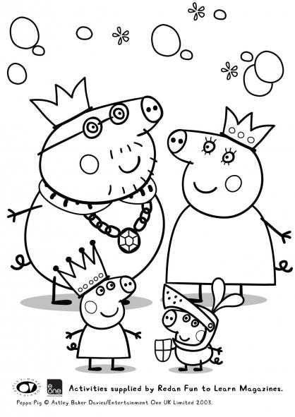dessin de peppa pig