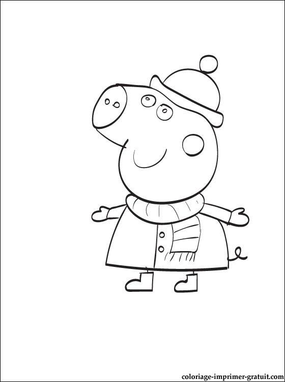 peppa pig jeux coloriage