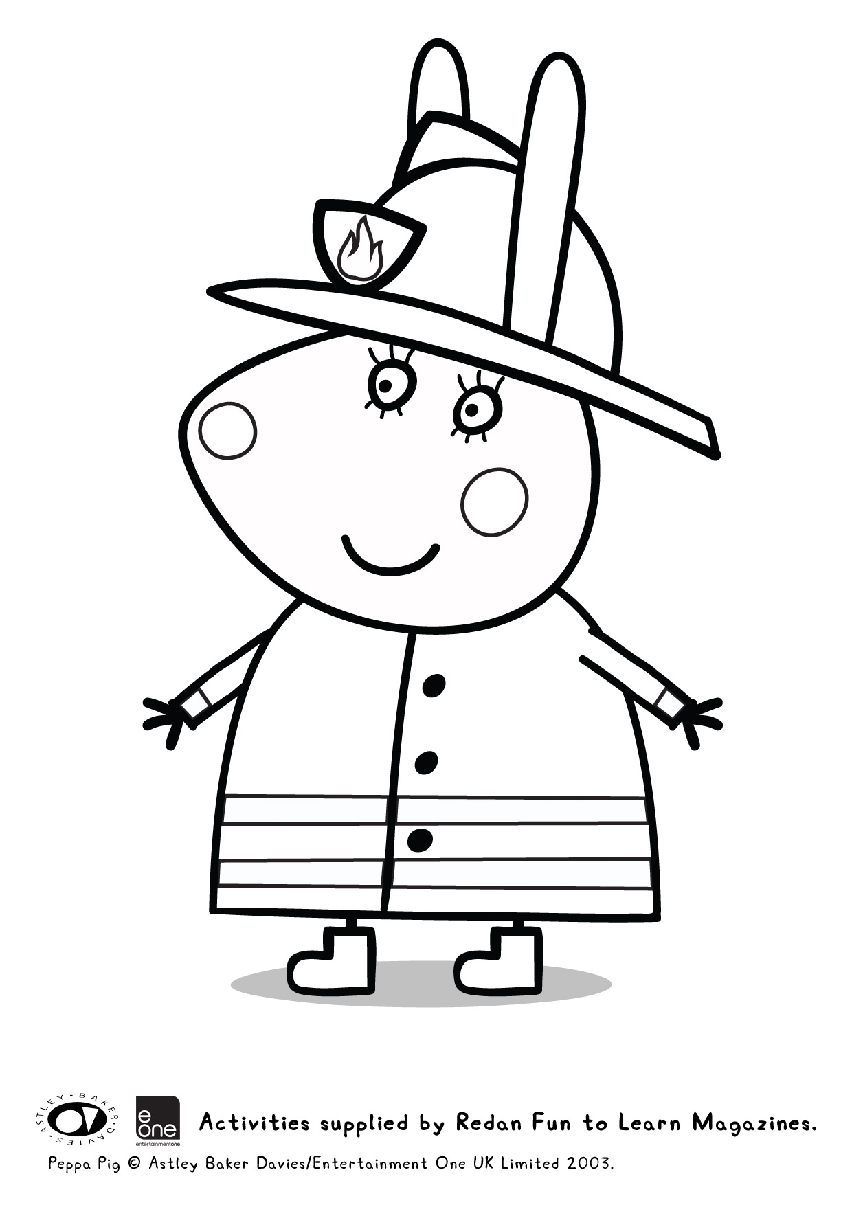 Free coloring pages of coloriage de peppa pig - Coloriage peppa pig ...