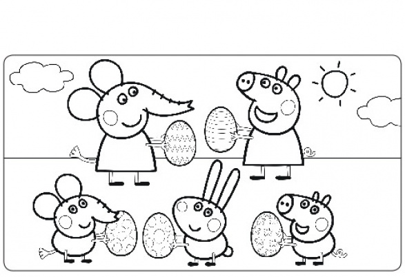 49 dessins de coloriage peppa pig imprimer - Coloriages peppa pig ...