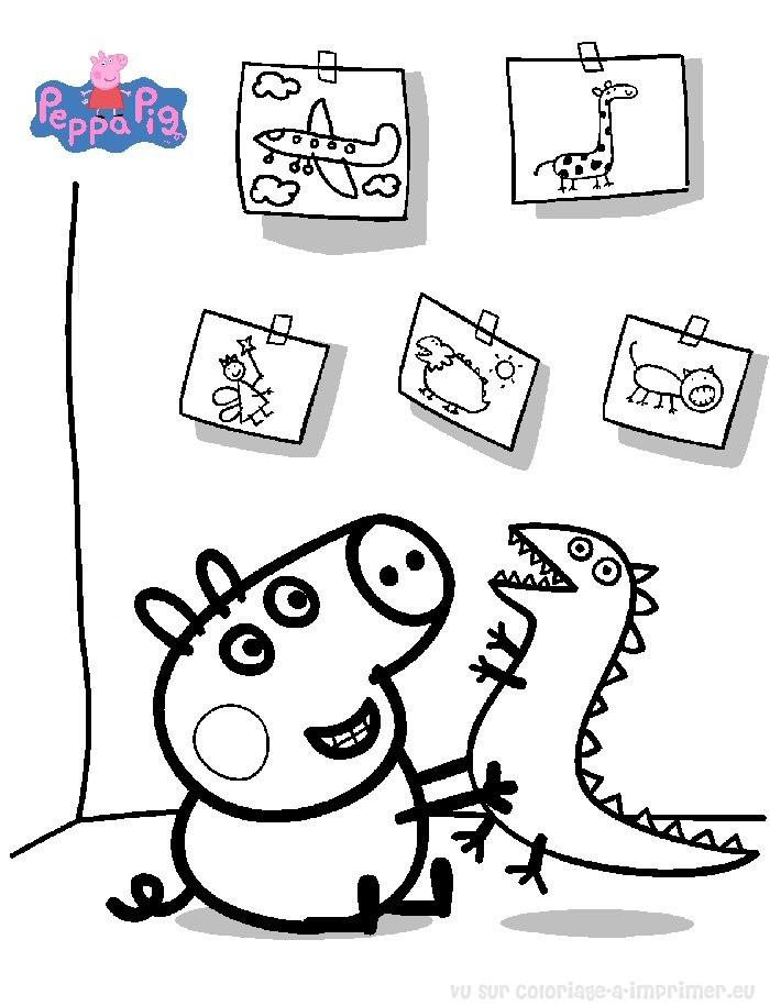 jeux dessin peppa cochon