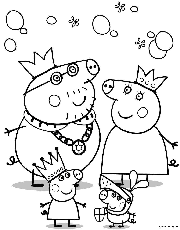 dessin peppa pig gratuit