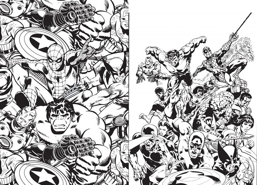 91 dessins de coloriage personnage adulte imprimer - Comics dessin ...