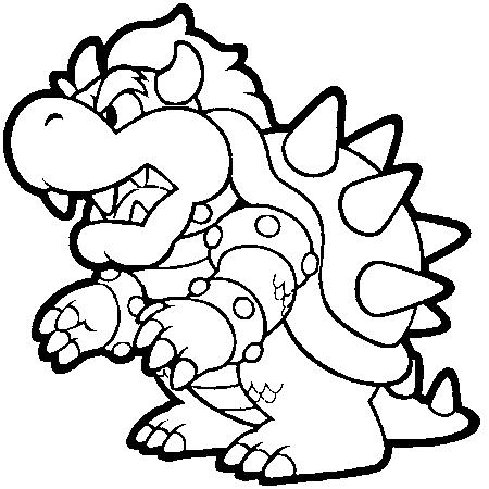 82 Dessins De Coloriage Personnage Mario à Imprimer