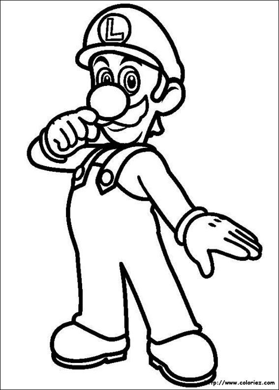 82 dessins de coloriage personnage mario  u00e0 imprimer
