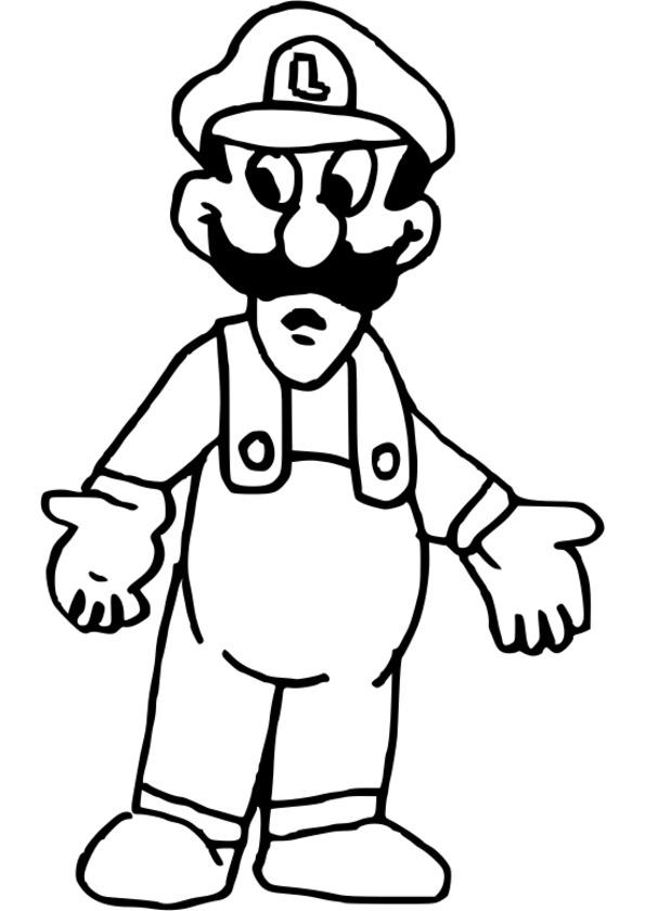 coloriage personnage a imprimer gratuit