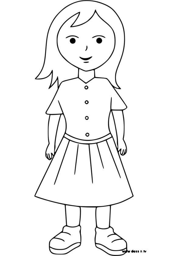 coloriage ^personnage alsacien