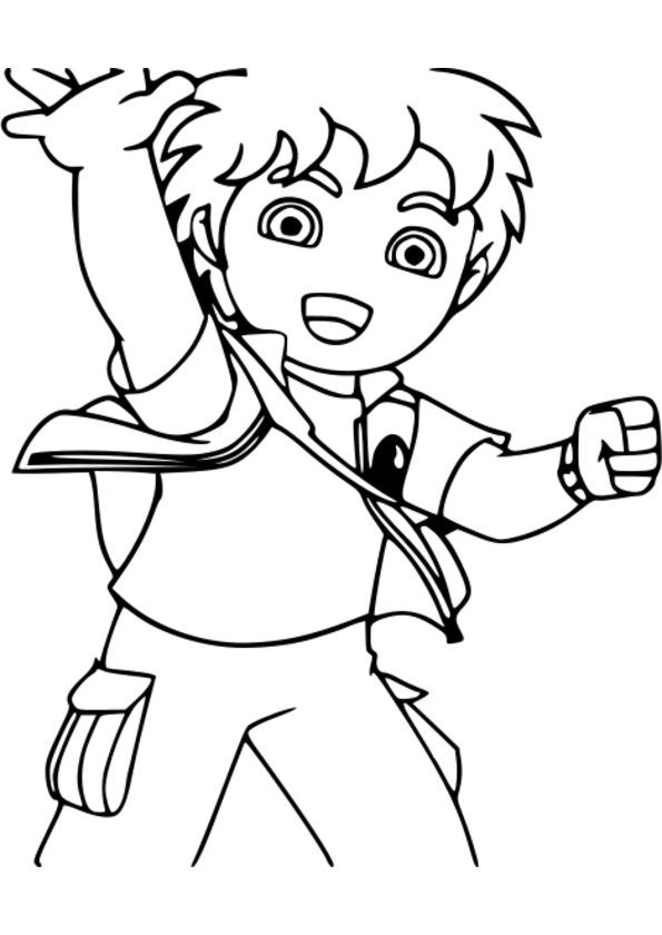 coloriage personnage de jeux video