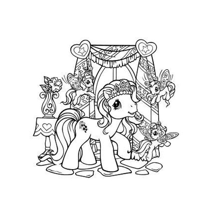 Dessin a imprimer pet shop cheval gratuit - Cheval petshop ...