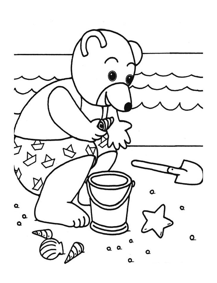4 dessins de coloriage petit ours brun imprimer imprimer - Coloriage de petit ours brun ...
