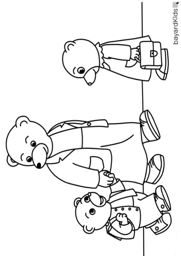 10 dessins de coloriage petit ours brun l 39 cole imprimer - Coloriage petit ours brun a imprimer ...