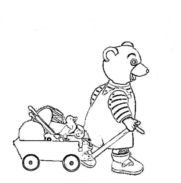 jeux dessin petit ours brun