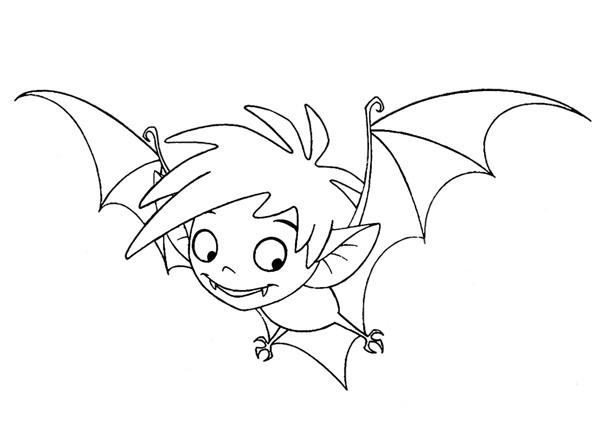 dessin de petit vampire