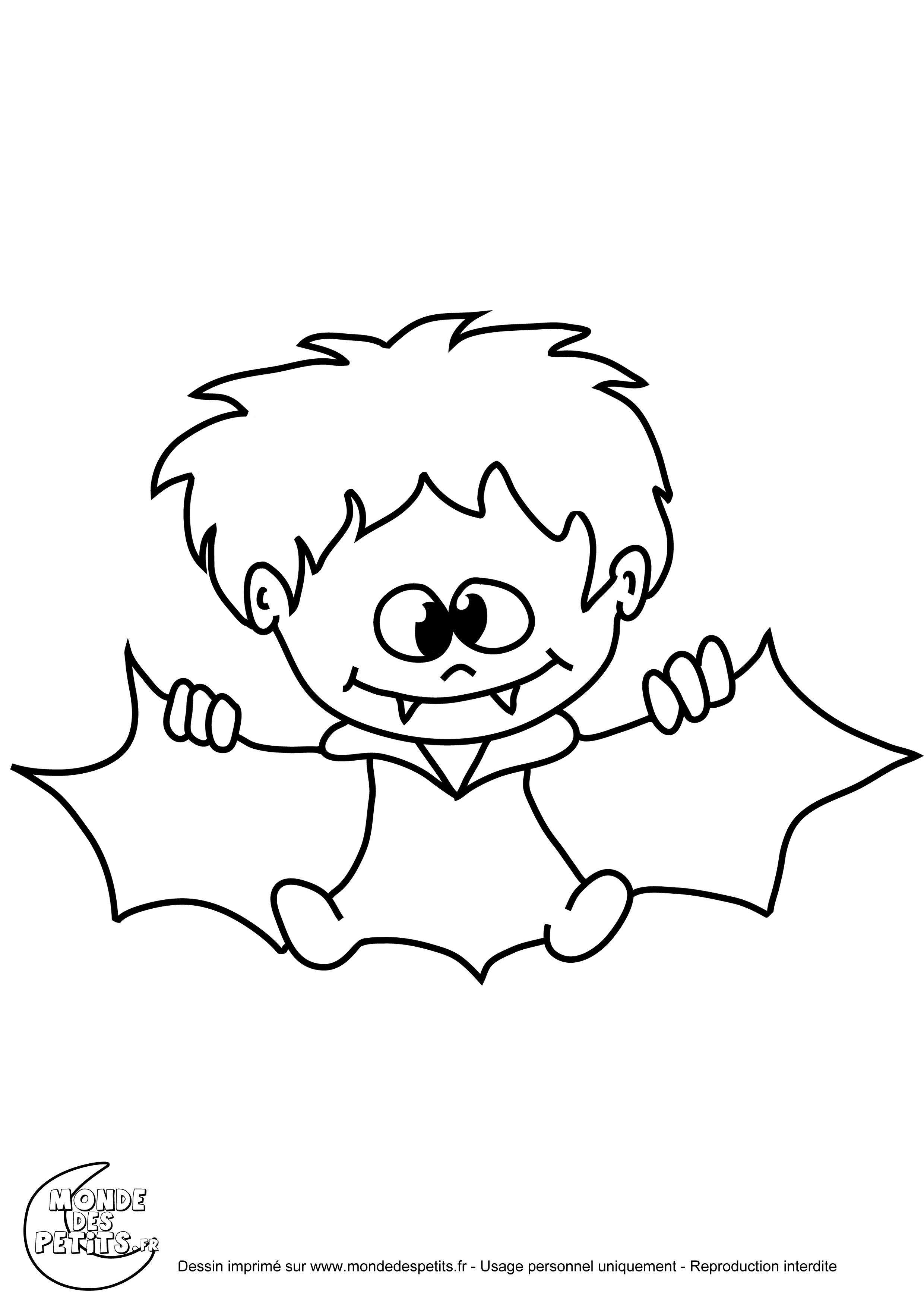 dessin l'ecole des petit vampire