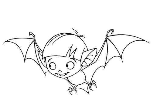dessin petit vampire