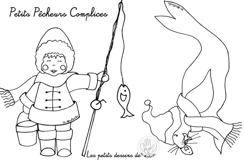 20 dessins de coloriage phoque banquise imprimer - Coloriage pingouin banquise ...