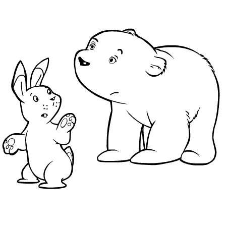 coloriage à dessiner phoque