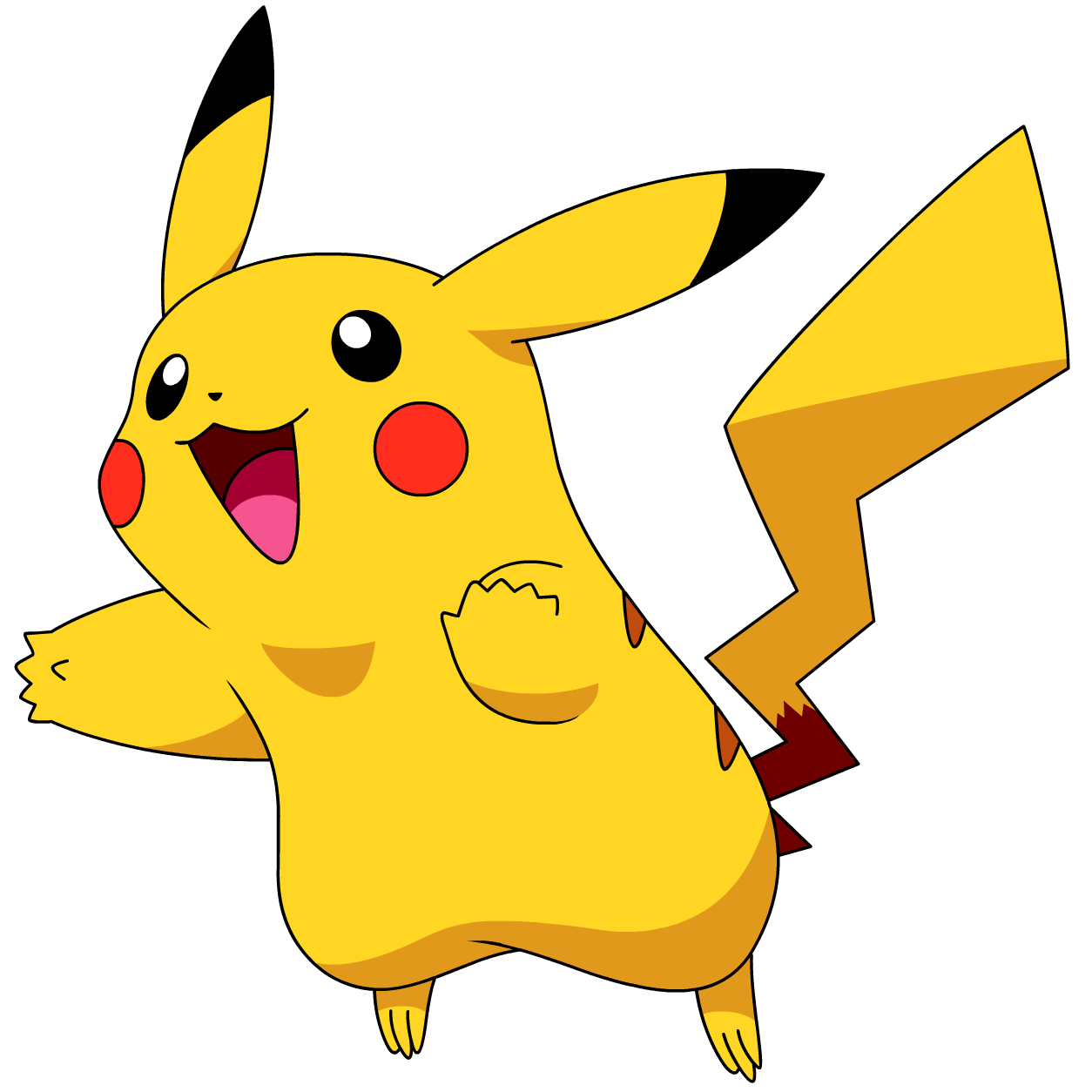 dessin en ligne pokemon pikachu